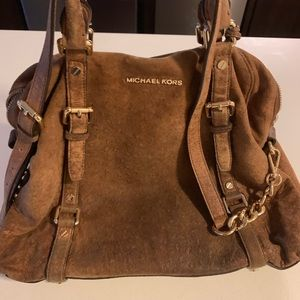 Fabulous Brown Michael Kors Tote!